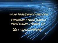 Pengisian Energi Kapsul Mani Gajah Tingkat III