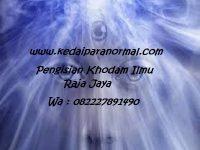 Pengisian Khodam Ilmu Raja Jaya
